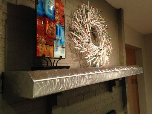 Buy Hand Made Stainless Fireplace Mantels Floating Shelves