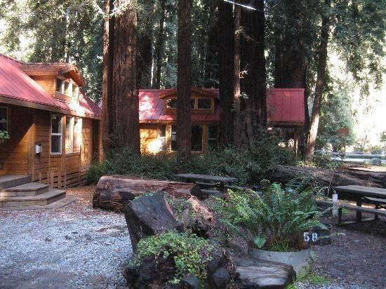Cabin Big Sur Campground Cabins