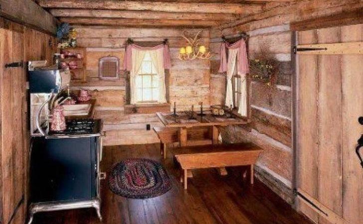 Cabin Decor Ideas Home Little House Rustic Interiors