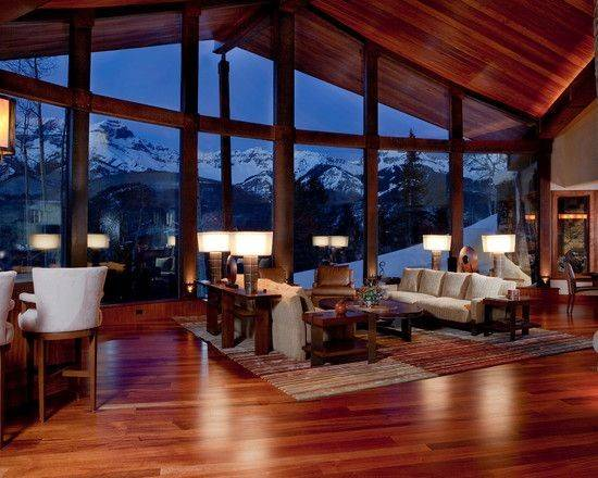 Cabin Interior Design Ideas Mountain