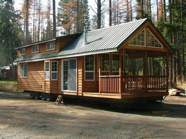 Cabin Wheels Small House Tiny