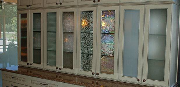 Cabinet Kitchen Glass After Frosted Knock Door Advice Your