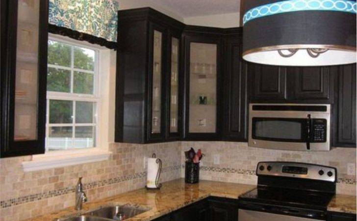 Cabinets Black Kitchens Dream Glass Cabinet Doors