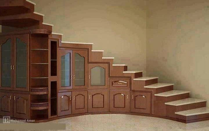 Cabinets Built Under Stairway Tiny Homes Pinterest