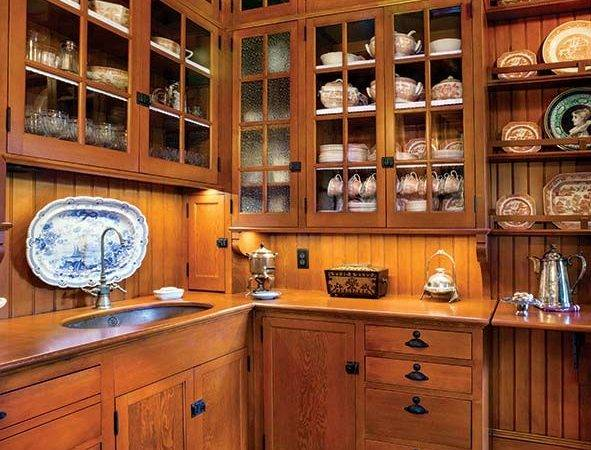 Cabinets Butler Pantry Were Designed Matthew Roman