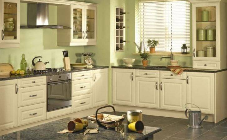 Cabinets Kitchen Colors Ideas Green Paint