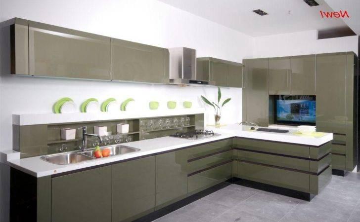 Cabinets Nice Sleek Kitchen Ideaattractive