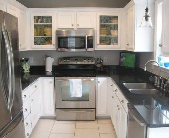 Cabinets Painted Kitchen White Backed