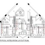 Cad Drawing Hotel Room Design Layout Cadblocksfree