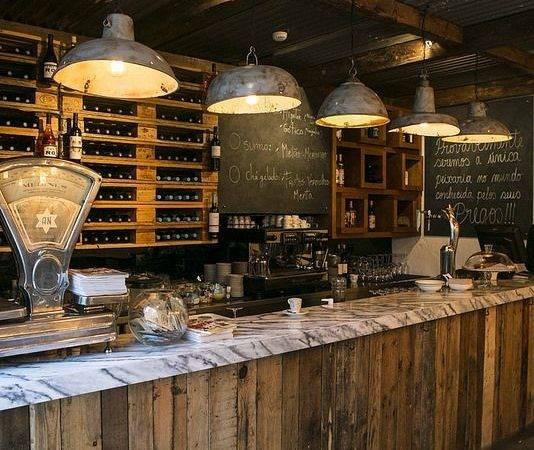 Cafe Design Vintage Restaurant Rustic Interior