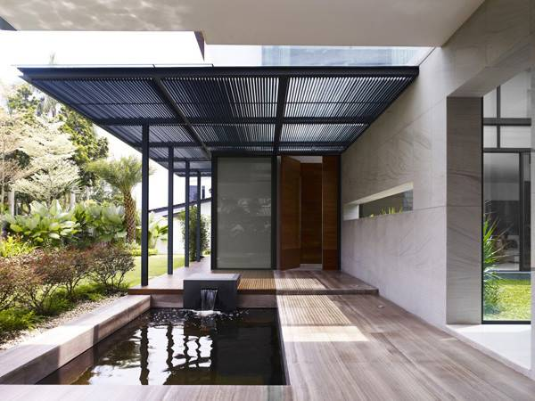 Calming Zen House Design Bringing Japanese Style Into Singaporean Home