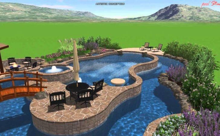 Calvary Custom Pools Lazy River Design Youtube