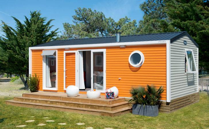 Campsite South France Mobile Home Sousta Premium