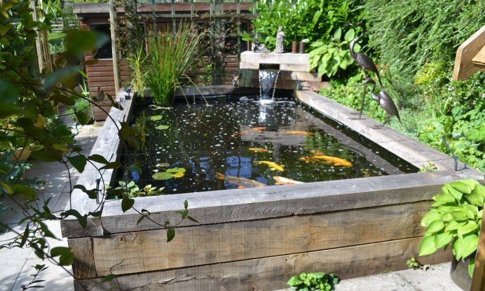 Can Make Your Yard More Amazing Raised Koi Pond Designs Idea