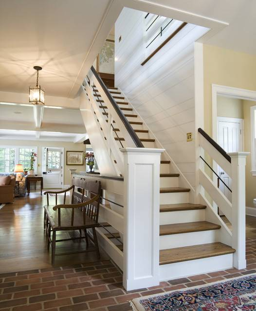 Canary Cottage Staircase Traditional Philadelphia