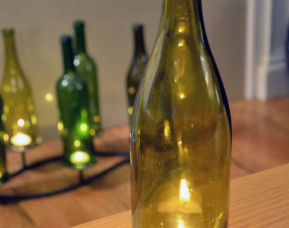 Candle Topper Reduce Rebooze Recycle Creative Uses Wine