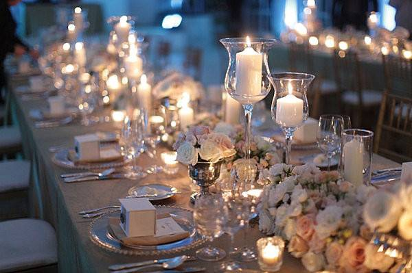 Candlelight Table Setting Party Entertaining Themes