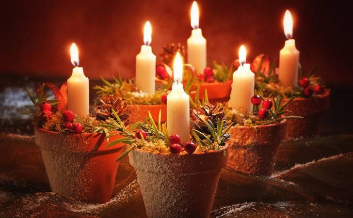 Candles Terracotta Pots Amanda Christopher Elwell