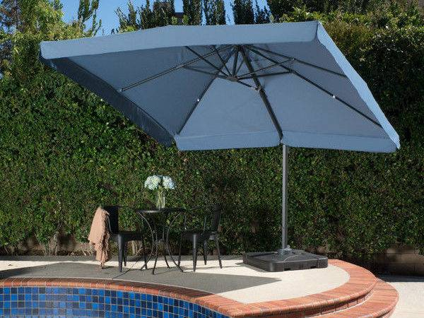 Cantilever Umbrella Waterproof Sun Shade Outdoor Pool Canopy Garden