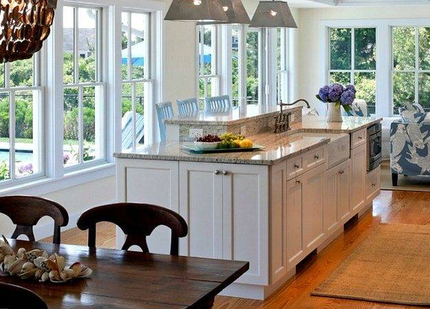 Cape Cod Kitchen Table Island