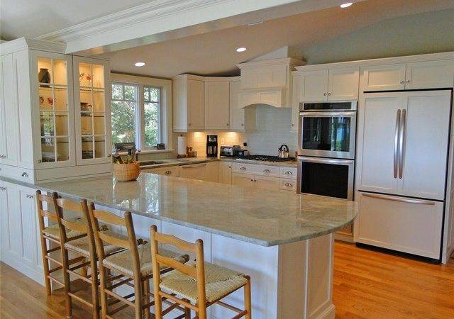 Cape Cod Kitchen Traditional Boston White Wood