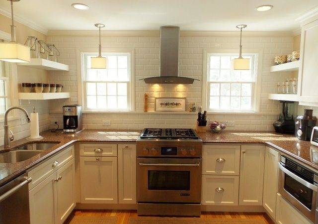 Cape Cod Kitchen Transitional Boston White Wood