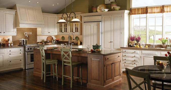 Cape Cod Kitchen Wood Mode Fine Custom Cabinetry