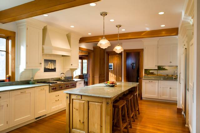 Cape Cod Summer Residence Traditional Kitchen Boston Sbj