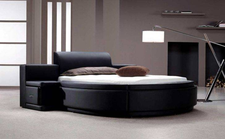 Captivating Round Bed Modern Bedroom Ideas