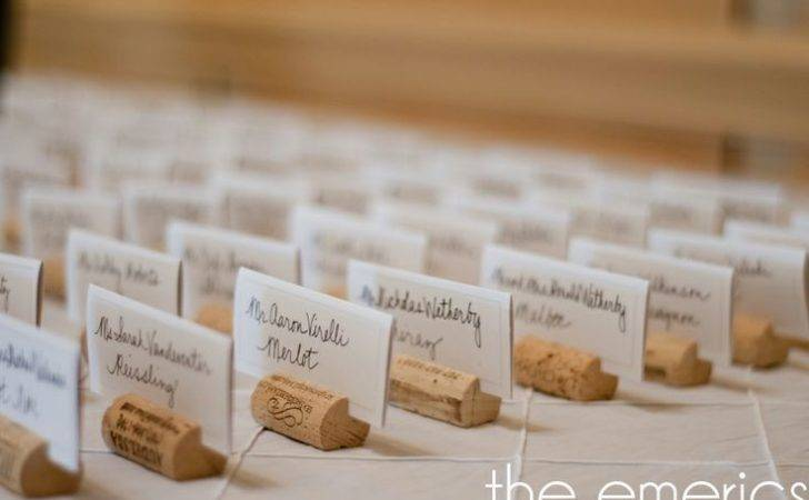 Card Holders Cork Place Cards Wine Corks Diy