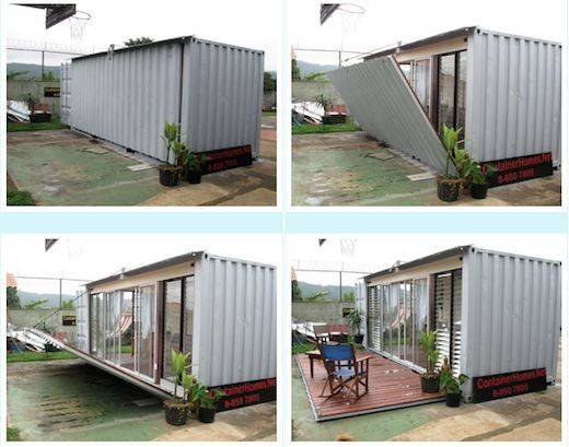 Cargo Container Studio Apartment Smaller Houses
