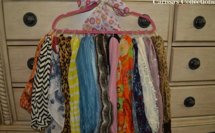 Carissa Collections Diy Scarf Organizer