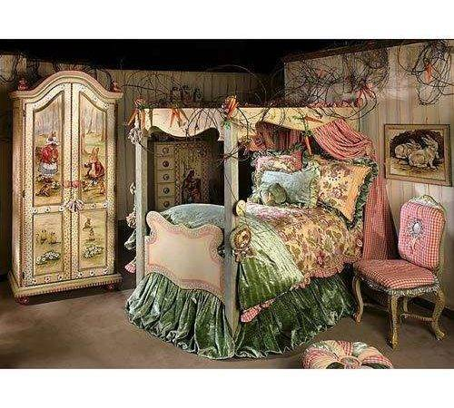 Carrot Collection Canopy Bed Linens Thisnext