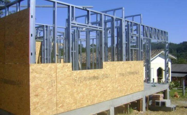 Casas Steel Frame Aco Metal