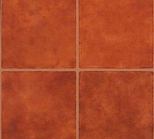 Case Terra Cotta Vinyl Floor Tile Self Adhesive Ebay