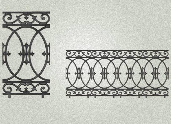 Cast Iron Balcony Railings Manufacturer Gujarat India