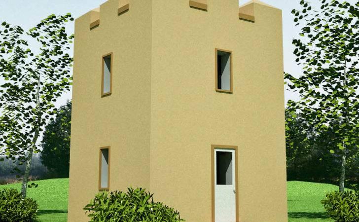 Castle Design Earthbag House Plans