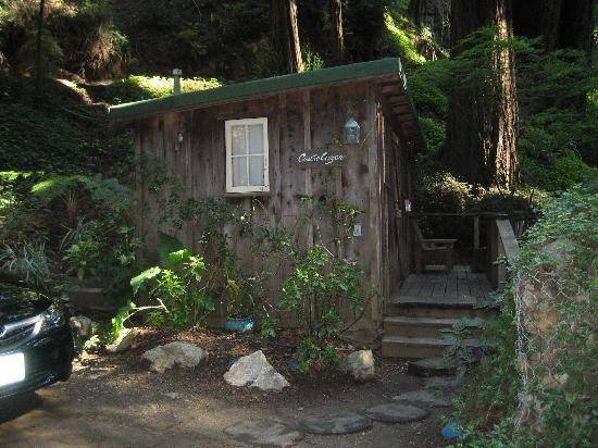 Castro Cabin Deck Deetjen Big Sur Inn