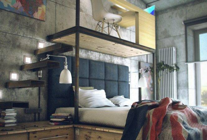 Casual Industrial Loft Rough Romance Digsdigs