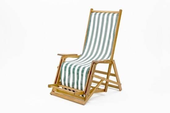 Catalan Deckchair Printed Cotton Southsea Deckchairs