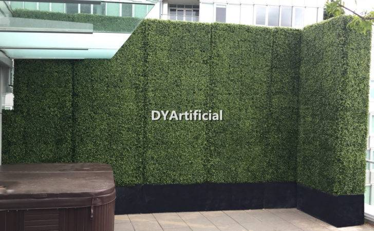 Categories Huge Artificial Boxwood Hedge Rooftop Balcony Privacy