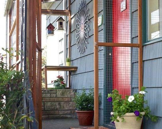 Catio Spaces Diy Plans Cat Enclosures Cats Encloseure