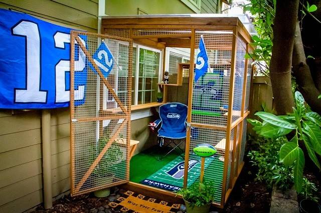 Catio Spaces Keep Your Cat Safe Happy Icreatived