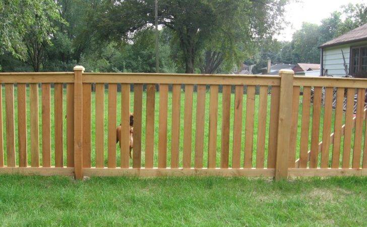 Cedar Ahorizontal Fence Love Thee Its Greatthe