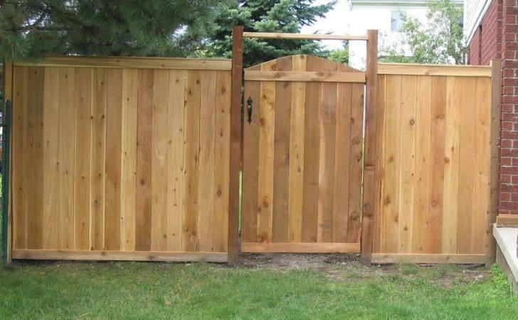 Cedar Fence Designs Gates