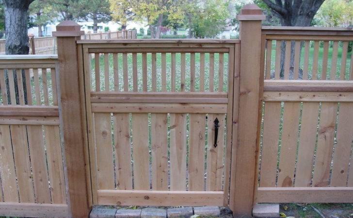 Cedar Fence Designs Pre Built