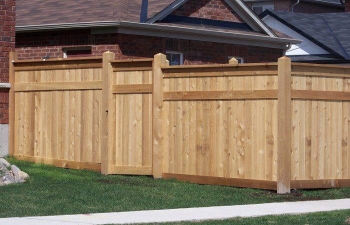 Cedar Fence Fencing Ideas Pinterest