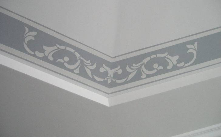 Ceiling Border Designs Hall Home Combo