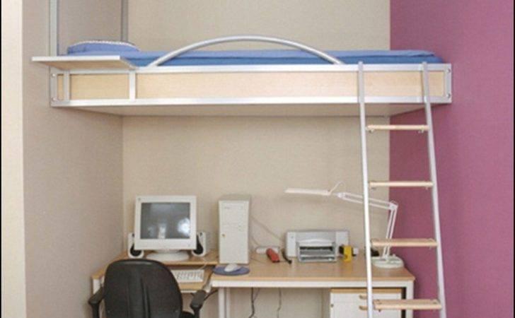 Ceiling Hanging Desk Under Bed Remarkable Loft Bunk