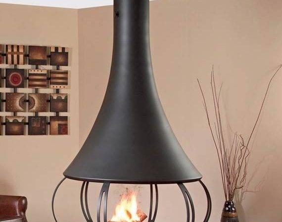 Ceiling Hanging Fireplace Beautiful Decor Pinterest